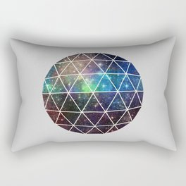 Space Geodesic Rectangular Pillow