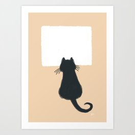 Window Cat Art Print