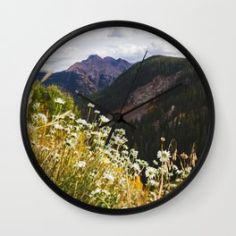 Pit Stop, Ouray Wall Clock