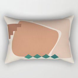 // Shape study #22 Rectangular Pillow