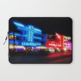 Miami Lights Laptop Sleeve