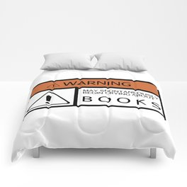 WARNING - Books Comforters