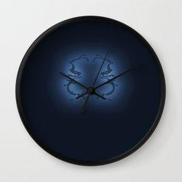 Koi Crest No Moon Light Wall Clock