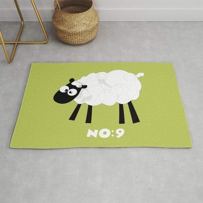 Sheep Number 9.... Rug