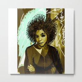 Woman N17 Metal Print