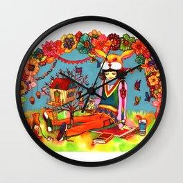 Hideaway Love Wall Clock