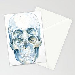 the 4i skull Stationery Cards