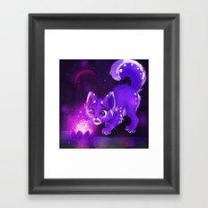Purple Lotus Framed Art Print