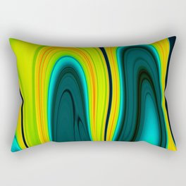 Abstract Fluid 17 Rectangular Pillow