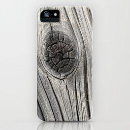 Wood Grain 1 iPhone Case