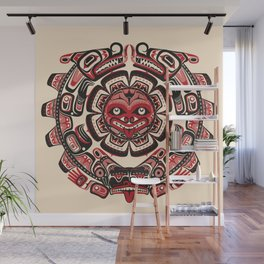 Sisiutl - The Two Headed Serpent Wall Mural