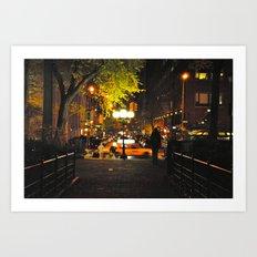 Nocturnal Union Square Art Print