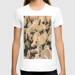 Cactus Maximalism // Vintage Bohemian Desert Photography Home Decor Summer Vibes T-shirt