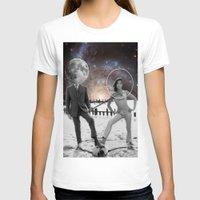 lunar T-shirts featuring Lunar effect by Kiki collagist