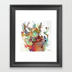 Anemones Blooming Framed Art Print