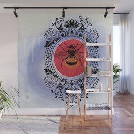 Bumble Bee Sunrise Wall Mural