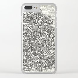 The Dot Portal Clear iPhone Case