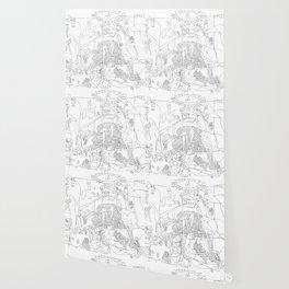 Picasso Line Art - Guernica Wallpaper