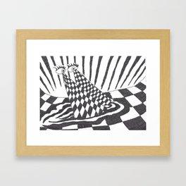 20/20 Vision Framed Art Print