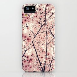 Blizzard of Blossoms iPhone Case