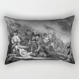 The Battle of Bunker Hill Rectangular Pillow