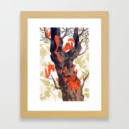 The Devils of Dark Bark Framed Art Print