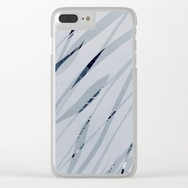 Water leaves Clear iPhone Case