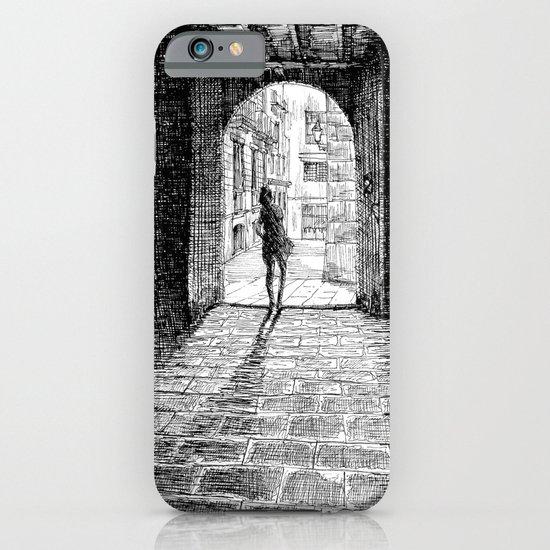 Light - Black ink iPhone & iPod Case