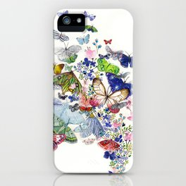 A flow of happiness iPhone Case