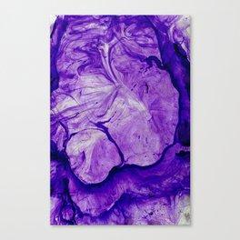 Purple Two Canvas Print