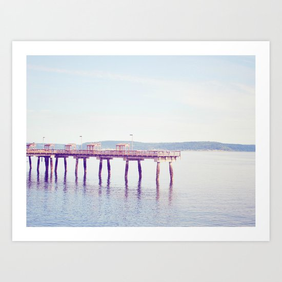 Ruston Way Art Print