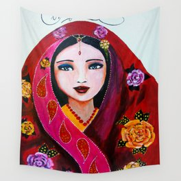 Compassionate heart Wall Tapestry
