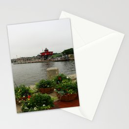 Seven Foot Knoll Light - Baltimore Inner Harbor Stationery Cards
