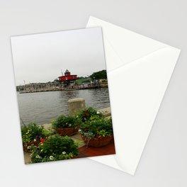 Seven Foot Knoll Light - Baltimore Inner Harbor Stationery Cards