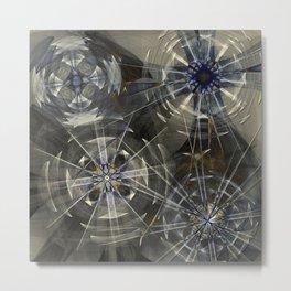 Spiral Logic Metal Print