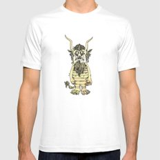 Can I Play? White MEDIUM Mens Fitted Tee