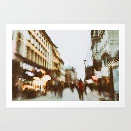 Malmo In Motion 2 Art Print