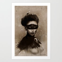 Dark Victorian Portrait Series: Mother Hecate Version 2 Kunstdrucke