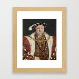 Hans Holbein  Henry VIII Framed Art Print