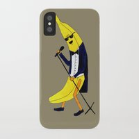 banana iPhone & iPod Cases featuring Banana by Anna Shell