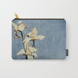 White Delphinium of Forgetfulness Carry-All Pouch