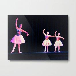 Ballet Trio Metal Print