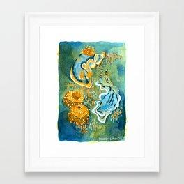 Nudibranchs Framed Art Print