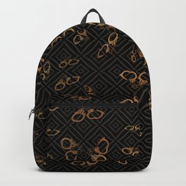 Understated Handcuffs Backpack