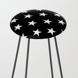 Stars (White/Black) Counter Stool