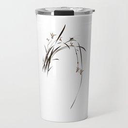 Singing Orchid Travel Mug