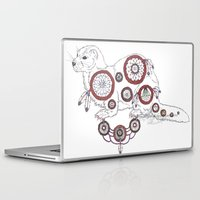 ferret Laptop & iPad Skins featuring DreamWarden - Ferret by RekaCryistall