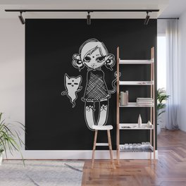 better with ghosts Wall Mural