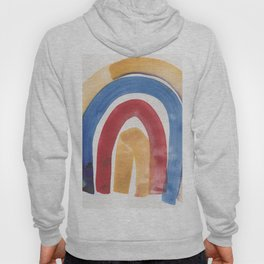 7 | 1903016 Watercolour Abstract Painting | Abstract Arch Hoody