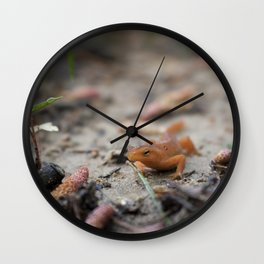 Spring Walk Wall Clock